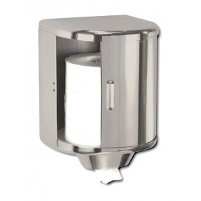 DISPENSADOR MECHA ACERO INOX. APERTURA LATERAL