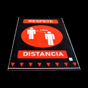 ALFOMBRA 90X150 RESPETE DISTANCIA